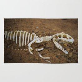 Allosaurus skeleton Rug