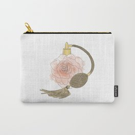 Golden Rose Perfume Carry-All Pouch