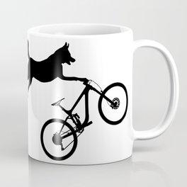 funny MTB mountain bike cycling dog lover gift Coffee Mug