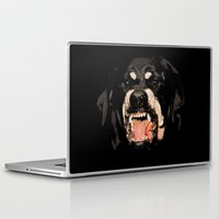 rottweiler Laptop & iPad Skins featuring Givenchy Antigona Rottweiler Art Print by Le' + WK$amahoodT Boutique by Paynasa®