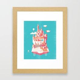 Turtle City Framed Art Print