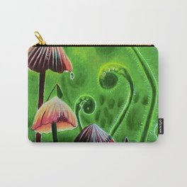 Mushrooms and ferns Carry-All Pouch