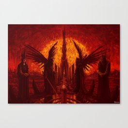 The Jugdement Canvas Print