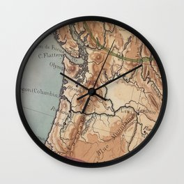 Old PNW Wall Clock