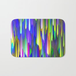 Colorful digital art splashing G394 Bath Mat