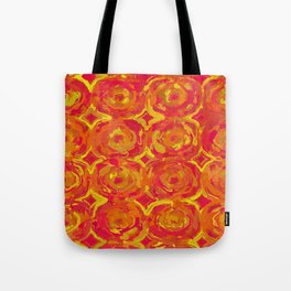 Red, Orange and Yellow Oils 7365 Tote Bag