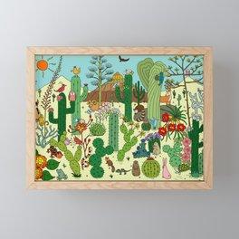 Arizona Desert Museum Framed Mini Art Print