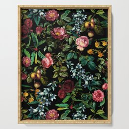 Floral Jungle Serving Tray