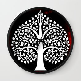 Bodhi Tree0106 Wall Clock