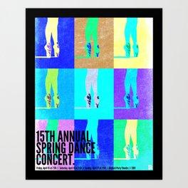 Dance Concert 2011 Art Print