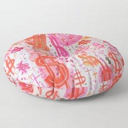 Barbie Money Floor Pillow