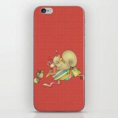 Navidad iPhone & iPod Skin