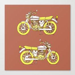 Vintage Motorcycle Gems III Canvas Print