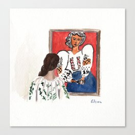La Blouse Roumaine Canvas Print