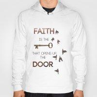 faith Hoodies featuring Faith by georgiedavey