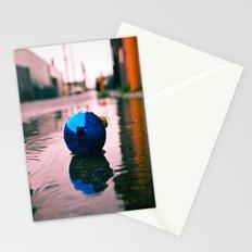 Urban Yuletide reflection Stationery Cards
