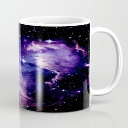 Galaxy .  Deep Purple & Blue Coffee Mug