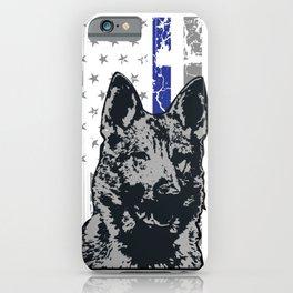 K9 police dog beagle police dog iPhone Case