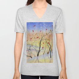Winter Song Unisex V-Neck