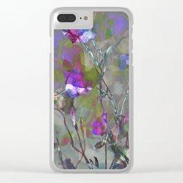 Beautiful Brambles Clear iPhone Case