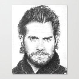 superman...  henry cavill. Canvas Print