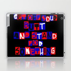 Get Off Your Butt Laptop & iPad Skin