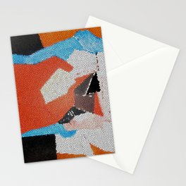 Cubist Mosaic Stationery Cards