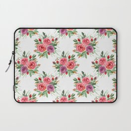 Watercolor . A bouquet of roses. 2 Laptop Sleeve