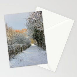 Winter Walkway Stationery Cards