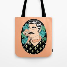 Johnny in the Jungle Tote Bag