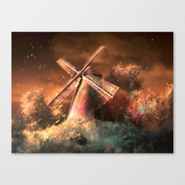 Color the wind Canvas Print
