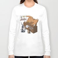 middle earth Long Sleeve T-shirts featuring Middle Earth Travels by souldroid