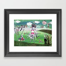 genderwahn Framed Art Print