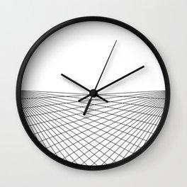 Rising over the Ocean Wall Clock