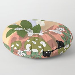 Summer in Paradise Floor Pillow