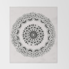 Grandma's Doily Throw Blanket