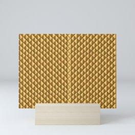 Golden Dragon Scales Mini Art Print