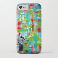 einstein iPhone & iPod Cases featuring Einstein by Bili Kribbs