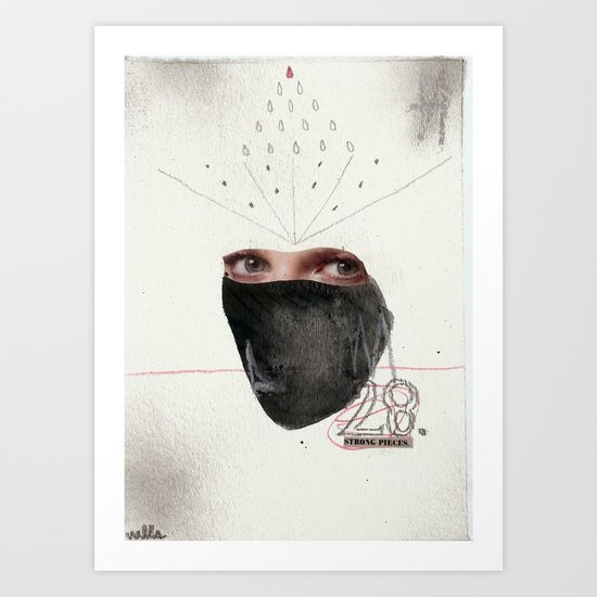 28 strong pieces Art Print