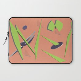 80s Shapes, Colors and Space Laptop Sleeve