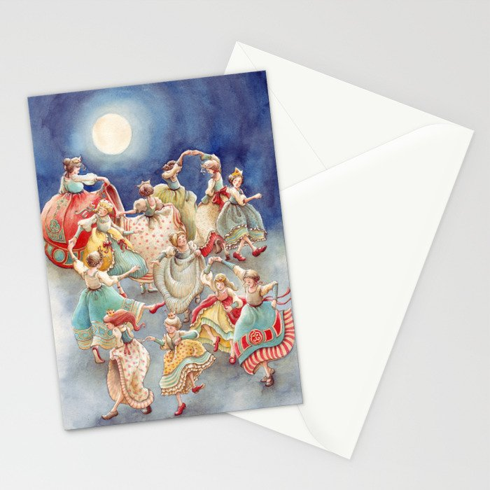 The 12 Dancing Princesses Stationery Cards