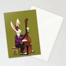 The Jazz Bunny Stationery Cards