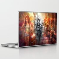 depression Laptop & iPad Skins featuring Depression by Mitul Mistry