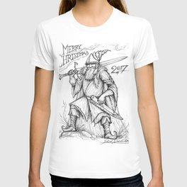 Warrior Saint Nicholas T-shirt