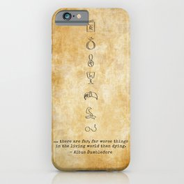 Horcruxes iPhone Case