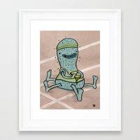 motivation Framed Art Prints featuring Motivation by bartd