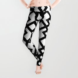 Black Box and Triangle Leggings