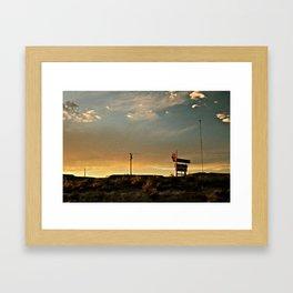 Its A Sign Framed Art Print