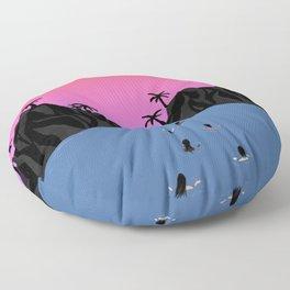 Swim Together Floor Pillow
