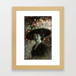 Puch the Tempo Framed Art Print